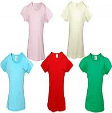 Flat 60% off on Little Stars Multi Colour 100 Cotton T-Shirt (Pack Of 5)