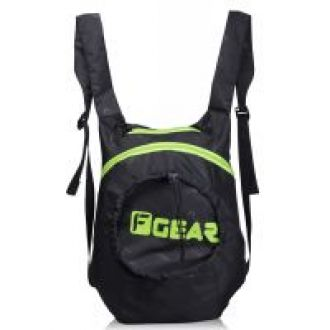 Buy F Gear Crest Foldable Small 15L 1-DAY BACKPACK (Black Green) for Rs. 390