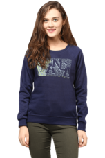 Buy X THE VANCA Women Printed Sweatshirt