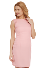 Get 50% off on X THE VANCA Womens Sleevless Sheath Dress