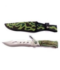 Buy Prijam NM-08 Fixed Blade 29cm Outdoor Knife With LED Torch For Hiking Camping Survival for Rs. 699