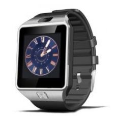 Flat 85% off on Crocon Dz09 Bluetooth Smart Watch With Sim Function Sdcard Support 2m Camera Silver