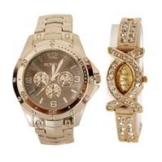 W33 - New Stylish Wrist Watches For Couple for Rs. 349