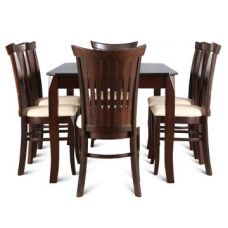 Flat 61% off on Cardiff 6 Seater Dining Set