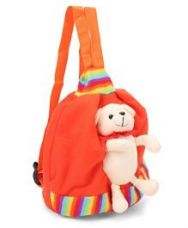 Funzoo Soft Toy Bag Puppy Shape Orange - 8.8 Inches for Rs. 184