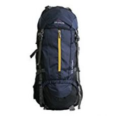 Buy Inlander 70L Navy Blue Travel Bag Backpacking Backpack for Outdoor Hiking Trekking Camping Rucksack from Amazon