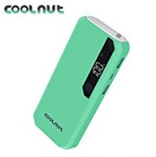 Buy COOLNUT CMPBDR-49 Power Bank 13000 mAh Dual USB Port, Portable Charger Power Banks (Made In India) from Amazon