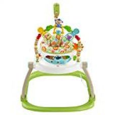 Buy Fisher Price Rainforest Friends Spacesaver Jumperoo Baby Bouncer (Multi Color) from Amazon