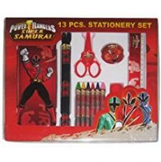 Power Rangers Stationery Set, Multi Color (13 Piece) for Rs. 329