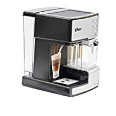 Buy Oster BVSTEM6601S-049 1050-Watt Prima Expresso and Latte Maker (Silver) from Amazon
