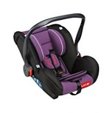 Buy LuvLap Infant Baby Car Seat Cum Carry Cot and Rocker with Canopy (Purple) from Amazon