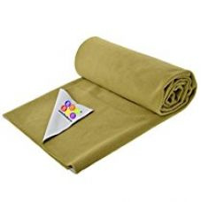 Bey Bee Quick Dry Baby Bed Protector Waterproof Sheet Reusable Absorbent Mat Elderly Patients Bedding Underpads (Golden) {Extra Large} {200Cm X 140Cm} for Rs. 1,185