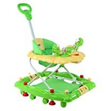 LuvLap Comfy Baby Walker with Rocker - Green for Rs. 2,389