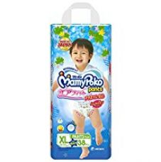 MamyPoko Pants Airfit Extra Large Premium Diapers for Boys (Blue, 38 Count) for Rs. 999