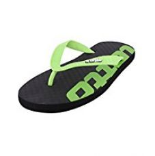 Buy Lotto Men's Slipper LS-1 Brown/Lime GV1260 UK/IN 10 from Amazon