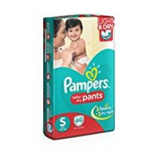 Buy Pampers Small Size Diaper Pants (60 Count) from Amazon