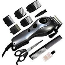 Buy Wzlife Brite Bht-1400 Professional Electric Hair Trimmer Heavy Duty Grooming Set For Men, Women (Silver Or Mutlicolor) from Amazon