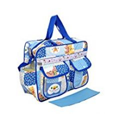 Buy Bey Bee - Mama's Bag {Diaper Bag} (Blue) from Amazon