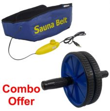 Deemark Combo Of Ab Slimmer With Ab Rollar for Rs. 630