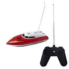 Toyshine Remote Control Toy Boat Ship, Ride in Water, 35 Meter Range, Assorted Color for Rs. 799