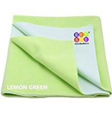 Bey Bee - Quick Dry Baby Bed Protector Waterproof reusable Sheet / Mat (Light Green) - Large (140cm X 100cm) for Rs. 559