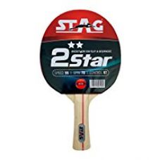 Stag 2 Star Table Tennis Racquet for Rs. 175