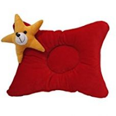 Amardeep and Co Baby Pillow (Red) - ad1119 for Rs. 199