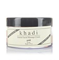 Khadi Face Gold Massage Cream 50Gms for Rs. 150