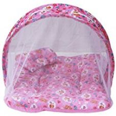 Amardeep and Co Toddler Mattress with Mosquito Net (Pink) - MT-01NP for Rs. 400