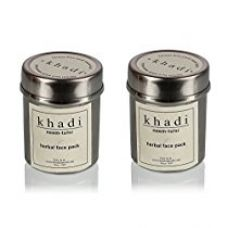 Buy Khadi Neem and Tulsi Face Pack, 50g (Pack of 2) from Amazon