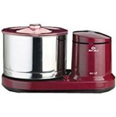 Bajaj WX 3 150-Watt Wet Grinder without Arm (Maroon) for Rs. 3,533
