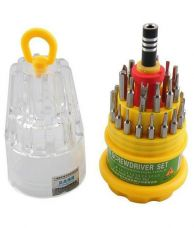 Buy Jackly Multi color Screw Driver (Set Of 31 Pcs) from Paytm