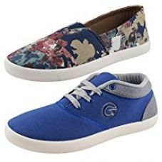 Globalite Women's Combo Of 2 Casual Shoes UK/IN 4 for Rs. 599