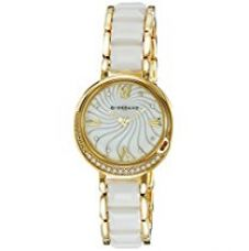 Buy Giordano Analog Mother of Pearl Dial Women's Watch - 60083-22 from Amazon