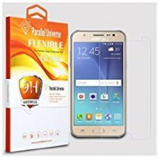 Buy Parallel Universe UNBREAKABLE FLEXIBLE Tempered Glass Screen Protector for Samsung Galaxy J7 (2016) / Samsung Galaxy On8 from Amazon