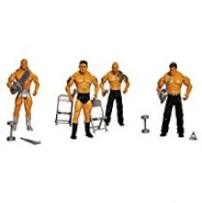 Buy Toyshine Pack of 4 WWE Action Figure Combo with Playing Accessories from Amazon