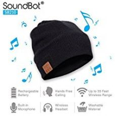 SoundBot SB210 Stereo Bluetooth 4.0 Wireless Musical Headset Beanie Headphone Hat for Music Streaming & Hands-Free Calling w/ 5hrs Music Playback, 8Hrs Talk Time, 60Hrs Standby Time, Built-in Mic & 33ft Range) for Rs. 1,290