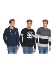 Buy BrandTrendz Combo of 3 T-shirts, multicolor, 42 from Infibeam