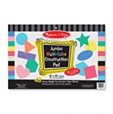Buy Melissa and Doug Jumbo Construction Pad, Multi Color from Amazon