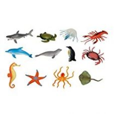 Buy Vibgyor Vibes™ Ocean/Water/Marine Animals Figures Set for Kids(Multi Colour) from Amazon