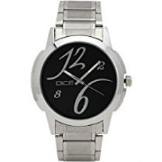 Buy Dice Men's Analogue Black Dial Watch - DCMLRD38SSBLK283 from Amazon