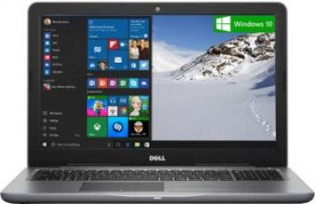 Buy Dell Inspiron 5000 Core i7 7th Gen - (8 GB/1 TB HDD/Windows 10 Home/4 GB Graphics) Z563505SIN9G 5567 Notebook  (15.6 inch, Grey, 2.36 kg) from Flipkart