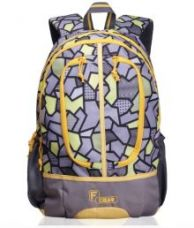F GearDropsy 3D P Yellow Casual  Backpack for Rs. 749
