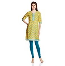 Buy Karigari Women's A Line Kurta from Amazon