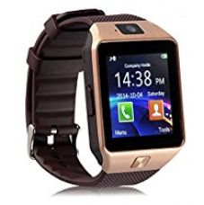 Roboster Cubee S Gold Bluetooth Smart Watch Dz09 Phone With Camera And Sim Card & Sd Card Support Fitness Band Fit Features Compatible With Andriod devices for Rs. 789