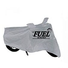 Buy Fuel Motorcycle Cover for Bikes (Silver, M) from Amazon