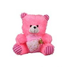 Buy Deals India Pink Potli teddy Stuffed soft plush toy Love Girl - 45cm from Amazon