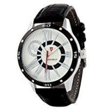 Buy Svviss Bells™ Stylish Black Bezel Watch TA-628WDBlkStrap from Amazon