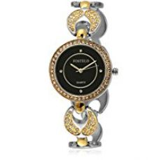Buy Fostelo Women's Black Dial Analog Wrist Watch (FST-192) from Amazon