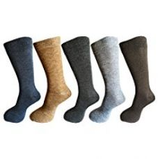 Buy RC. ROYAL CLASS Men's Calf Length Solid Woolen Warm Winter Socks (Pack of 5 Pairs) from Amazon